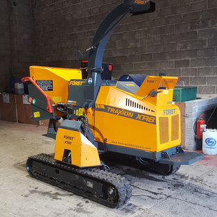 Forst XR8D Tracked Chipper