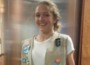 Nags Head Girl Scout Earns Silver Award