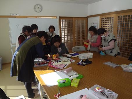 田子西中央復興住宅で第2回手芸カフェ開催