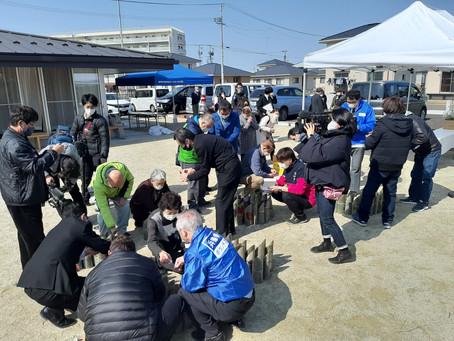震災10年 閖上中央第2団地の式典に参加