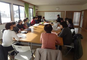 田子西中央災害復興住宅で手芸カフェ開催