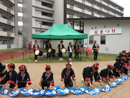仙台市落合復興公営住宅「夏祭り」
