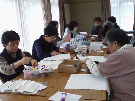 落合復興住宅で手芸カフェ開催