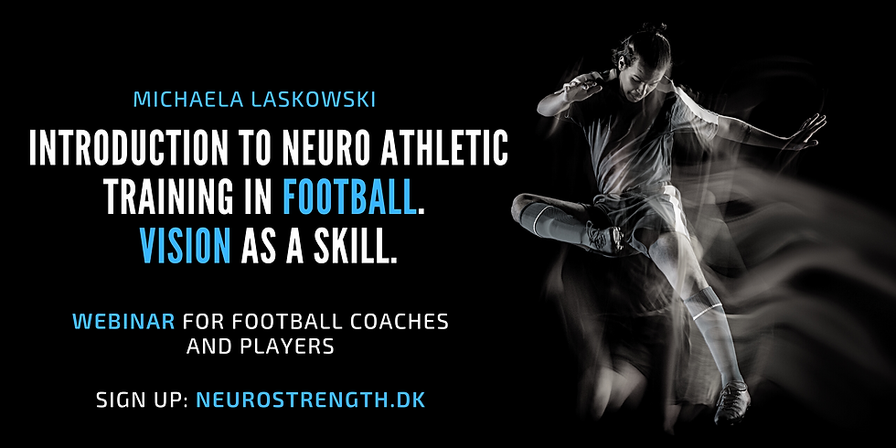 Introduction to Neuro Athletic training in football: Vision