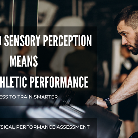 Work on your sensory to improve physically!