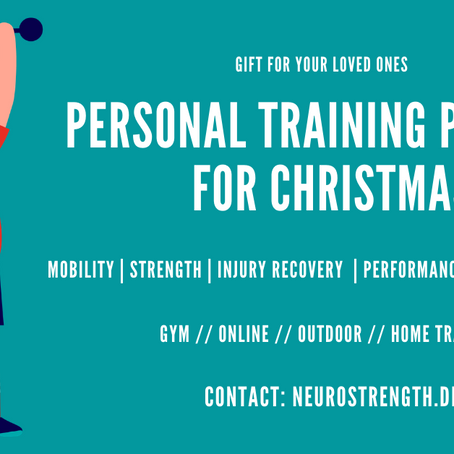 Personal Training Christmas Packages
