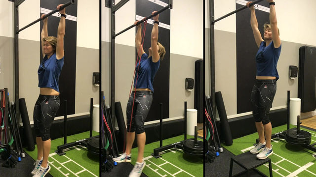Scapula pullups for office workers