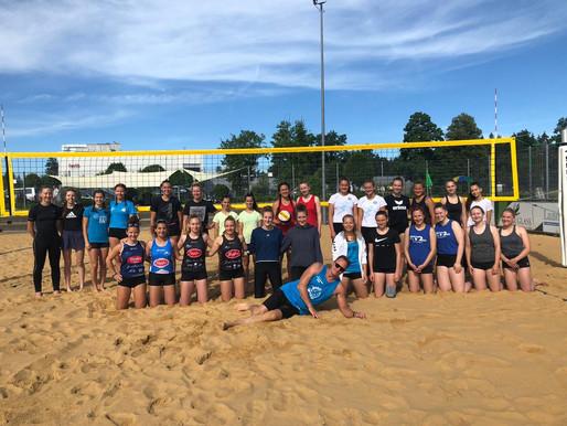 Lechrain Volleys erfolgreich im Sand