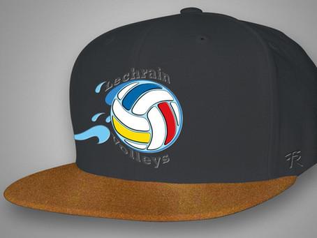 Caps für die Lechrain Volleys