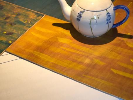 5. Des napperons en bois…