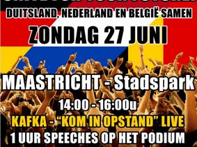 Mars voor vrijheid - Maastricht 27.06.2021