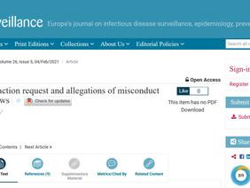 De langverwachte repliek van Eurosurveillance op de 'retraction paper' inzake PCR testen