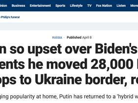Biden en Putin vliegen elkaar in de haren (en wij zitten in het midden...)