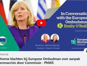 Klacht neerleggen bij de Europese ombudsman
