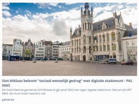 NVA burgemeester introduceert digitale munt en sociaal beloningsysteem