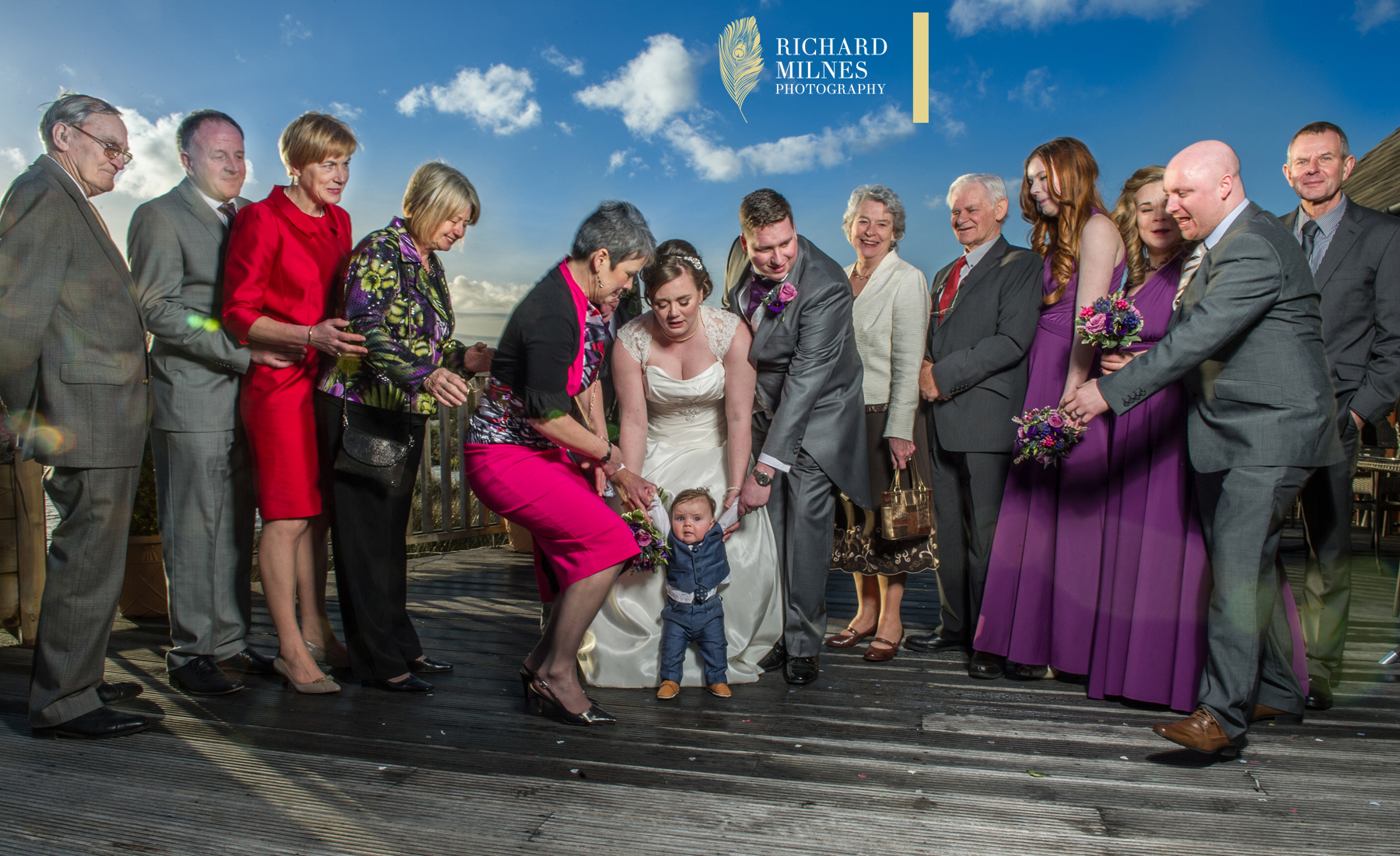Sandhole Oak Barn Wedding Photograph