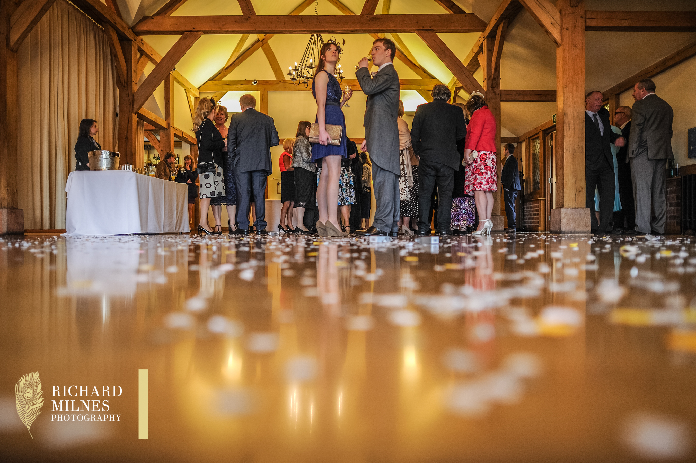 Sandhole Oak Barn Wedding Photo