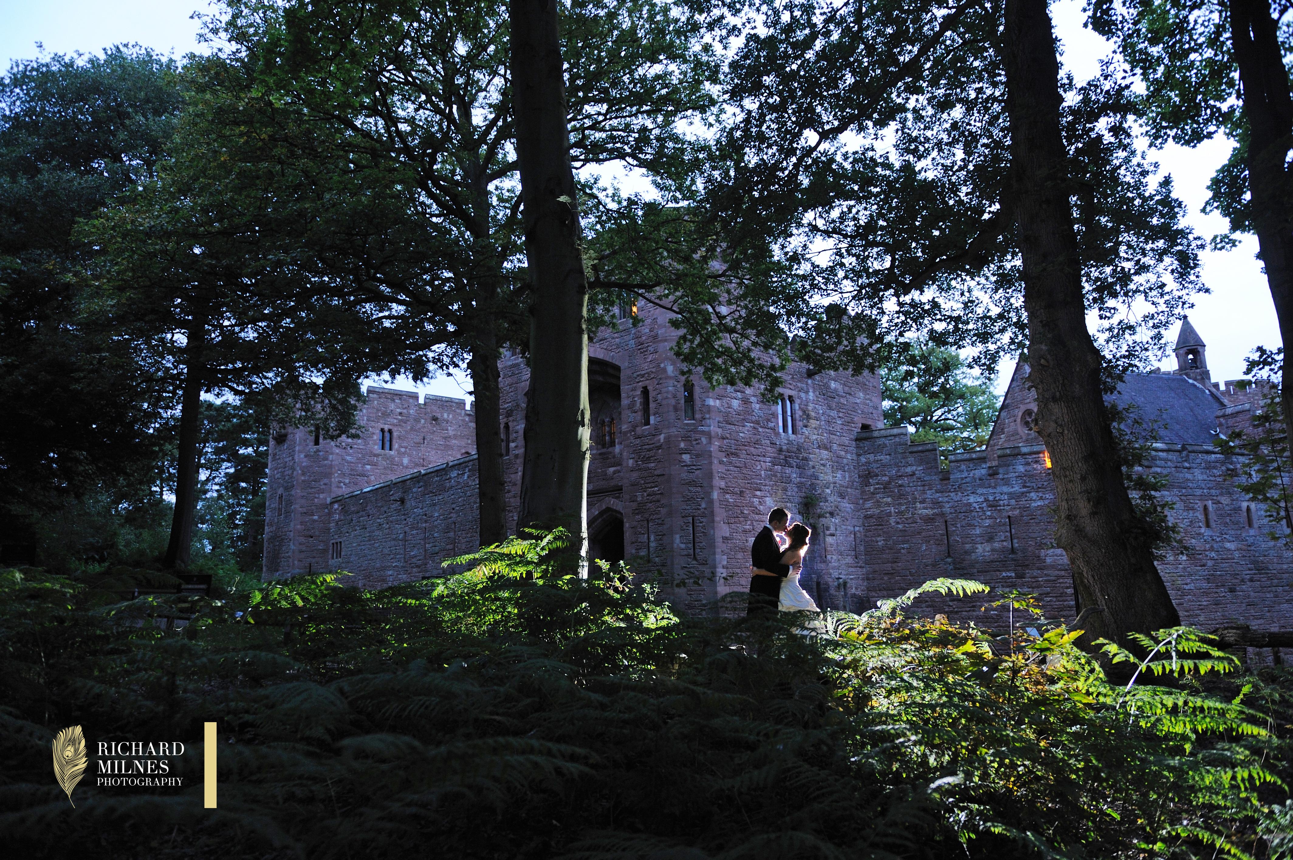 Peckforton Castle Wedding Photo