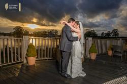 Sandhole Oak Barn Wedding Photo