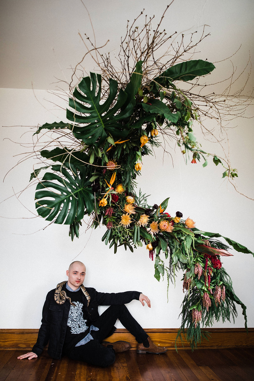 Fennec Floral Sculpture_Colby