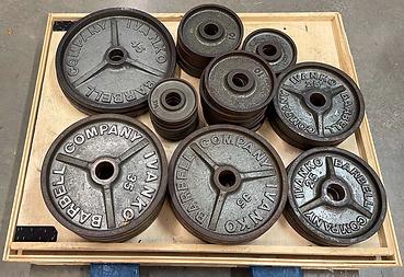 Ivanko Cast Iron Weight Plates