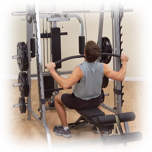 Body-Solid GLA348QS Lat Attachment for Series 7 Smith Machine