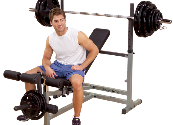 Body-Solid GDIB46L Power Center Olympic Bench