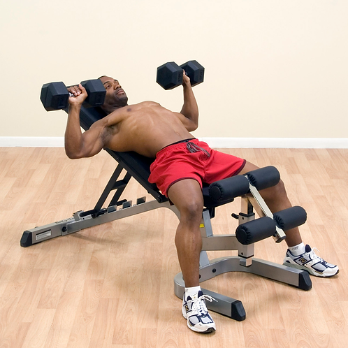 Body-Solid GFID71 Heavy Flat Incline Decline Bench