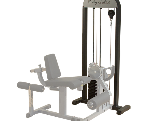 Free Standing Selectorized Weight Stack, 210LB