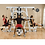 Thumbnail: BODY-SOLID EXM4000S 3 STACK GYM