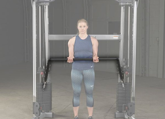 Body-Solid Functional Trainer Dual Press Bar Attachment for GDCC200, GDCC210