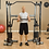 Thumbnail: Body-Solid Functional Trainer Dual Press Bar Attachment for GDCC200, GDCC210