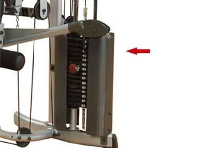 Powerline P2X Weight Stack Metal Shroud