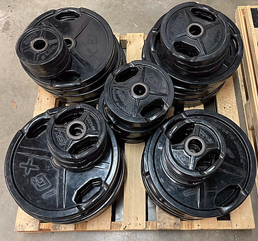 IGX Rubber Olympic Weight Plates