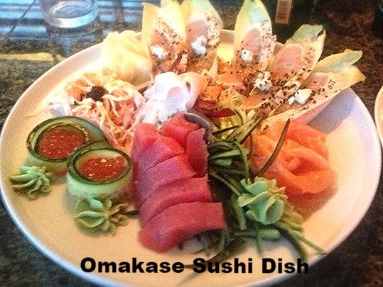 Best Sushi Bar Kingwood George Bush Airport Texas Omakase Chef