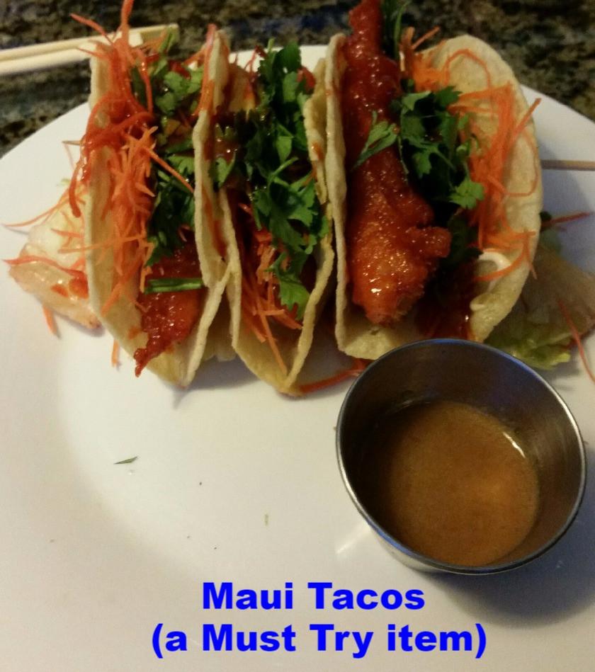 Best seafood tacos in Humble Kingwood Texas