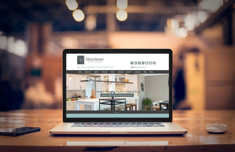 MainStreet Design Build Website