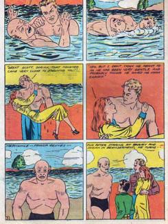 Daredevil Barry Finn Comic Strip