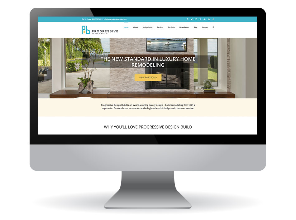 Progressive Design Build Website