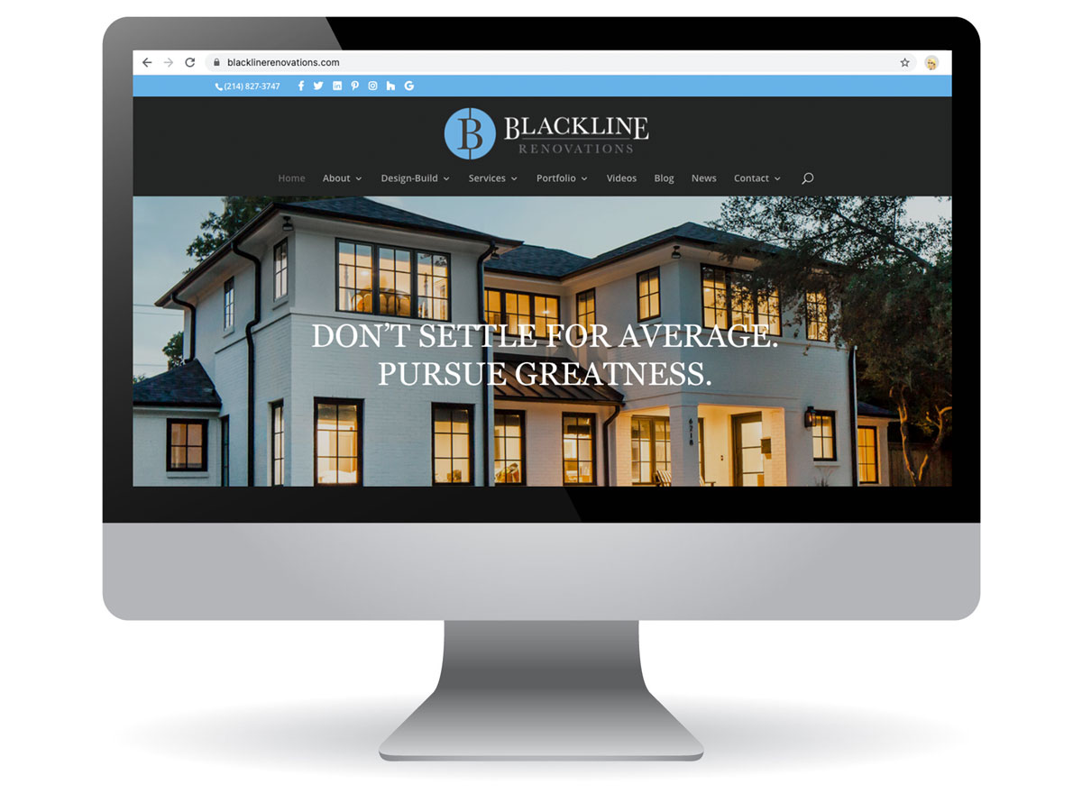 Blackline Renovations Website