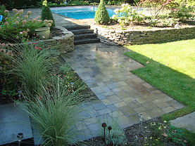 Concrete Pavers Walls