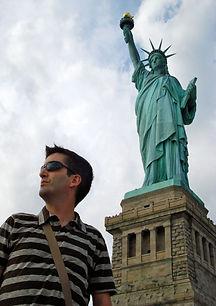 Nacho Caballero en Nueva York.
