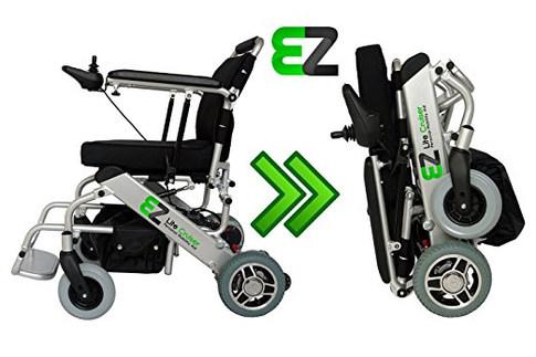 EZ Lite Cruiser - Standard Model - Personal Mobility Aid - Light Weight Folding Power Wheelchair