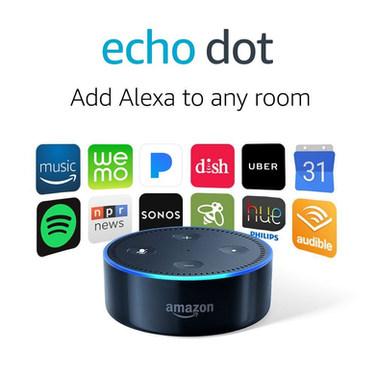 Echo Dot (2nd Generation) - Black