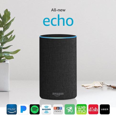 Echo (2nd Generation) – Charcoal Fabric