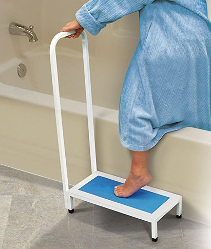 North American Healthcare - Bath Step, Supports Up to 500 lbs, Non-slip grip