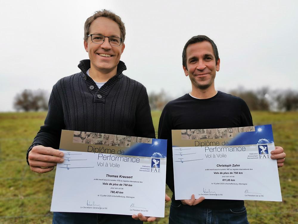 Diplome der FAI