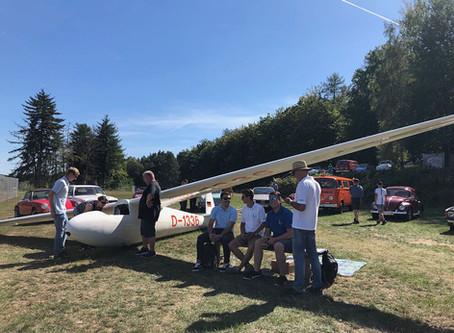 Segelflugzeug-Oldie zu Gast beim MSF Frammersbach