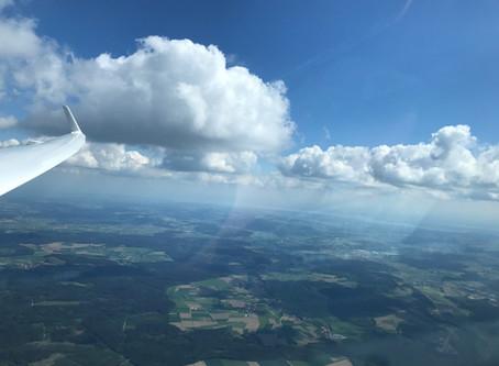 Flug ab Altenbachtal zum Bodensee im Segelflieger