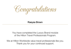Hilton Travel Agent